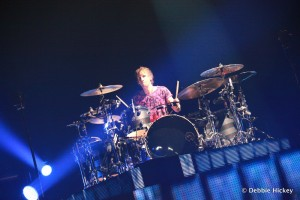 Dominic James Howard - Muse Drummer @ The o2