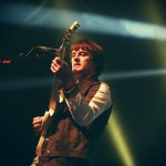 Nick McCarthy of Franz Ferdinand at The Olympia by Debbie Hickey