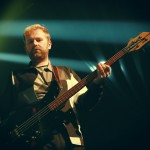Bob Hardy - Franz Ferdinand at The Olympia by Debbie Hickey