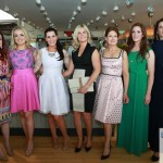 Sinead McKenna of Belle Boutique with event models by Debbie Hickey