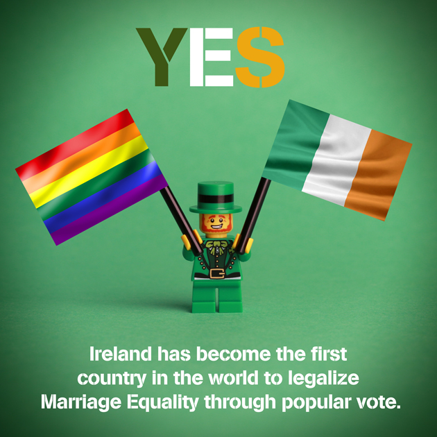 IRELAND SAYS YES!