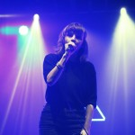 Lauren Mayberry of Chvrches by Debbie Hickey